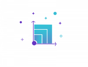 scalable graph depicting transactions