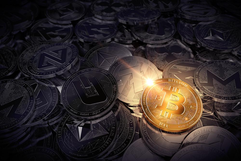 Bitcoin in gold