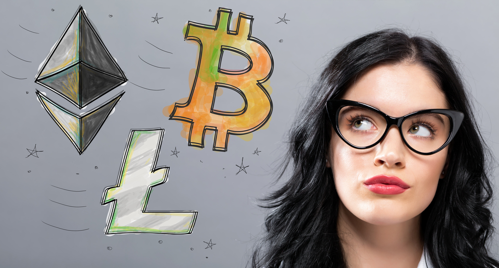 women investor in cryptocurrency